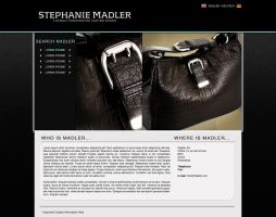 MADLER - Luxery Bags Website by TheWorldIsTooSmall