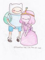 Finn x Princess Bubblegum by StardustSkittles