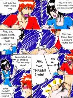 Thumb war battle by Pamianime