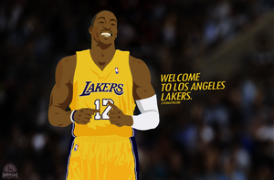 Dwight Howard, Welcome to Lakers by lisong24kobe