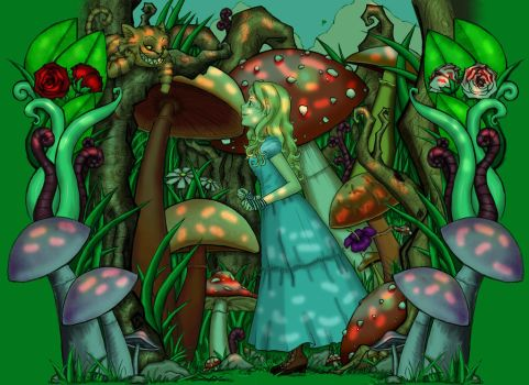 Alice In The Forest by nimisha