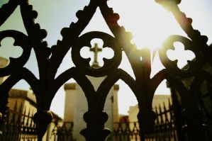 Cemetery Gates by Meaesthetica