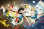 Rikku and Yuna cosplay final fantasy x2 cosplay by MissWeirdCat