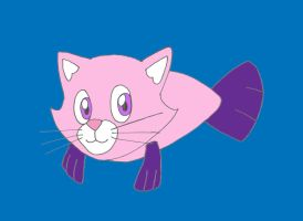 Whiskey the Cat Fish by sammychan816