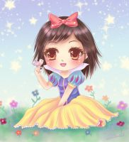 Chibi Snow White by Nawal
