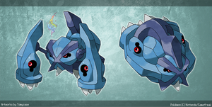 Mega Metagross by Tomycase