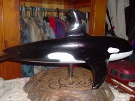 Wooden Orca II by SquirrelWitch