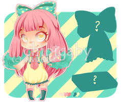 Adoptable #2 [OPEN] -AUTOBUY- by chibigaby