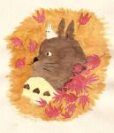 My neighbour Totoro by Lillerev
