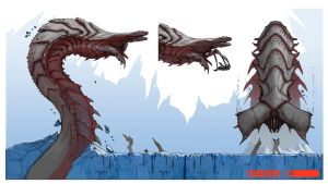 Ice-Leviathan by Stephen-0akley
