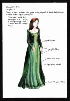 Ella Enchanted Costume 3 by wretchedharmony-lina