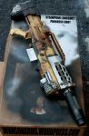 Steampunk/Fallout Style Longshot Progress Shot 2 by JohnsonArms