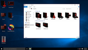 Red IconPack for Win10 by hamed1987s