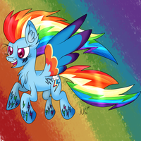 Rainbow Power RD by WolfyOmega