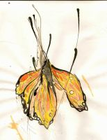 Birth of a Monarch Butterfly by felix-bambaboy
