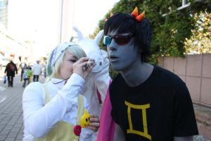 Sollux Captor Cosplay by TheBlueBerryJelly