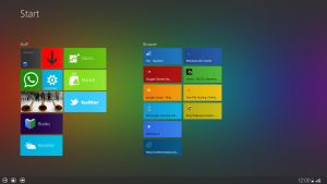 Windows 8 theme concept for Android ICS, Honeycomb by MetroUI