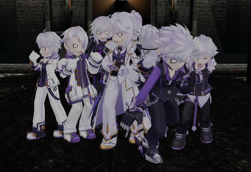 [MMD Elsword] G-Ghost...?! by Sallaria