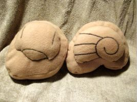 +Pokemon+ Helix and dome fossil plushies FOR SALE! by Darling-Poe