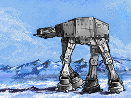 AT-AT by MomentsOfBloom