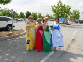 Anime North 2012 Beauty and the Beast Group by TehTig3r