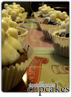 cupcakes - choco snowballs'4 by angelicetherreality