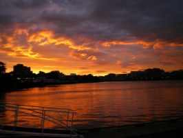 Sunset on the Harbour2 by blank-lishi