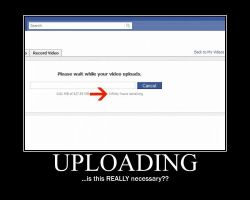 Uploading on Facebook by supergirl2319
