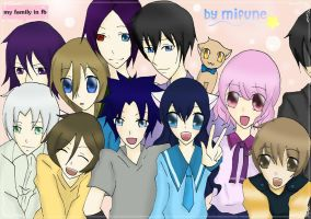 my family in fb by Mifune84