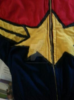 Captain Marvel Cosplay: Coming Soon by TheSwearingMime