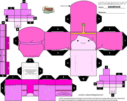 Cubeecraft AT - Princess Bubblegum #2 by adam1875