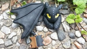 Chibi Toothless (Video Tutorial) by NerdEcrafter