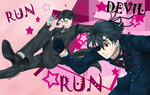 Run Devil Run Kuroshitsuji contest by xbluephantomx