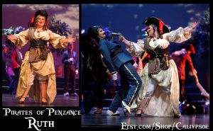The Steampunk Pirates of Penzance- Ruth by Caliypsoe
