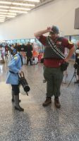 Switching Hats -TF2 Otakuthon Cosplay- by Spinosaur123