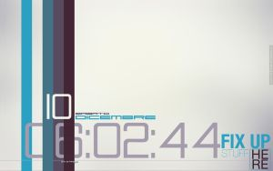 Typography Minimal Desktop by TsTdesign