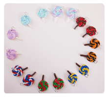 Lollipop swirl charms by FairysLiveHere