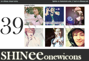 SHINee Onew Icons Pack by lyfette