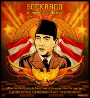 soekarno_vector version by widjana
