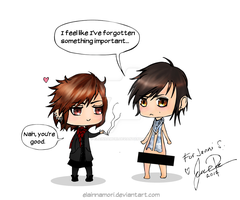Forgetfulness feat. Kai and Ruki by ElainnaMori