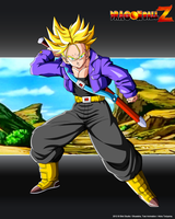 Trunks SSJ V2 AS by Seiya-Dbz-Fan