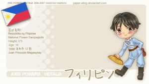 Hetalia: Philippines-tan by paper-sting