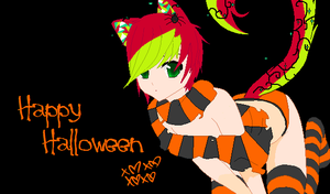 Happy Halloween~~!! by HappySynthesizerlove
