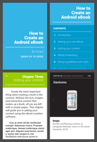 Android phone eBook concept by spiceofdesign