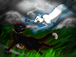 'Icestar VS Scourge' -AT- by KikiraAngel