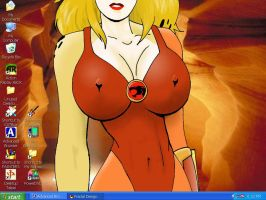 Cheetarah Desktop by Patches67