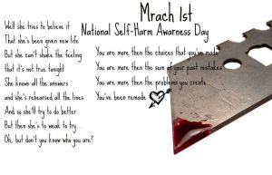 National Self-Harm Awarness Day by WolvesRock15