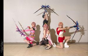 We're all ready to go // Serah Farron by ElliaDinosaur