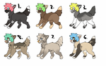 Dog Adopts (OPEN) by AngryDeer