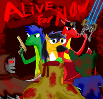 Alive for Now Comic Poster by M41Aconner